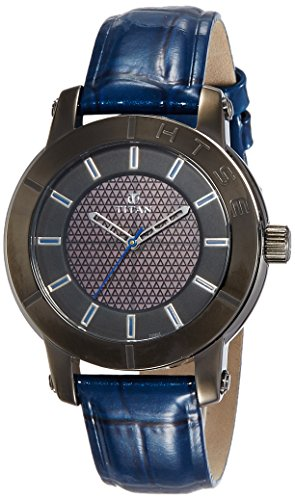 Titan HTSE Ladies Solar Powered Quartz Watch with Blue Hour Markers and a Leather Strap 2526QL02