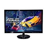 ASUS VS248HR 24 inch Gaming Monitor (1 ms, 1920 x 1080, HDMI, DVI-D, VGA, 250 cd/m2) - Black