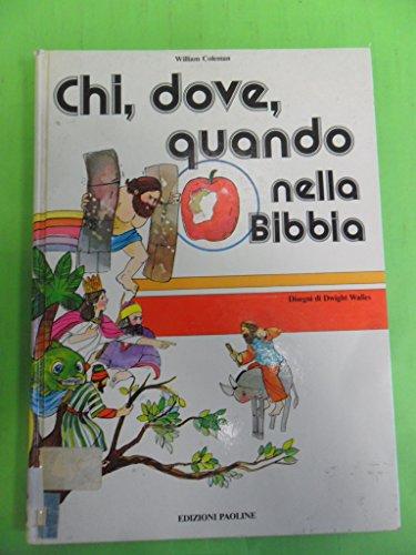 Chi, dove, quando nella Bibbia