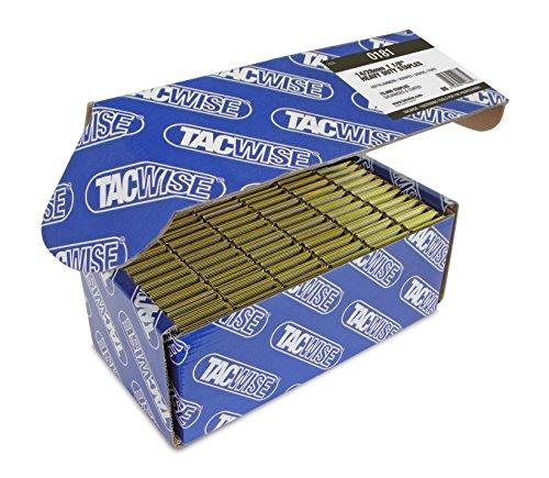 Tacwise 0181 Boîte de 15000 Agrafes galvanisées 28 mm Type 14 - Bronze