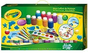 Crayola - 93099 - Kit de Loisir Créatif - Mallette de Peinture