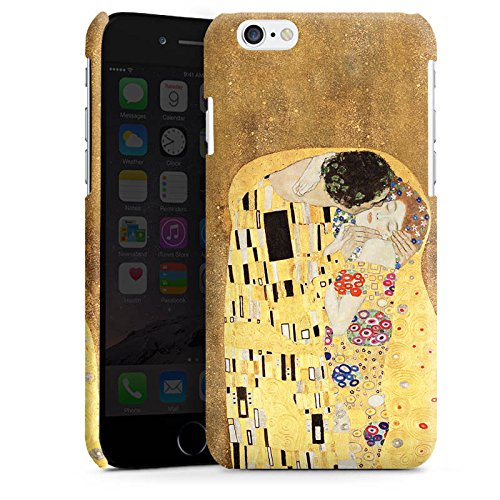 Apple iPhone 5 Housse Étui Silicone Coque Protection Klimt Le Baiser Art Cas Premium brillant