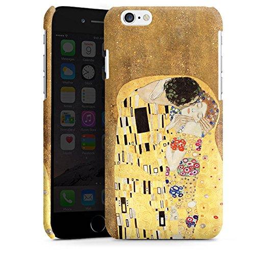 Apple iPhone 5 Housse Étui Silicone Coque Protection Klimt Le Baiser Art Cas Premium brillant