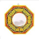 Pa kua espejo (Bagwa) para protección contra la energía negativa pasiva (cóncavo doblegado hacia el interior). Feng Shui Trigram Espejos para protección y buena suerte de mystic east