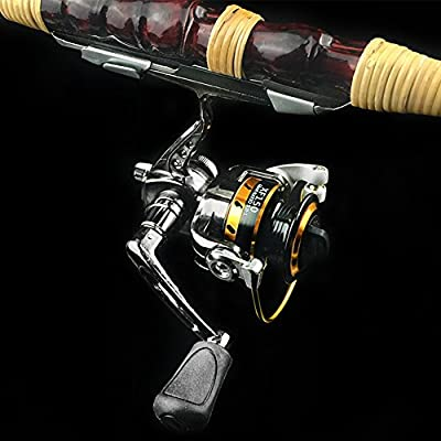 EDTara Spinning Fishing Reels Mini Portable Right/Left Swap Handed Fly Fishing Reel Super Light Fishing Raft Wheel by Zantec