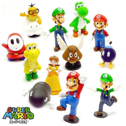 Super Mario Figuren 12 Satz