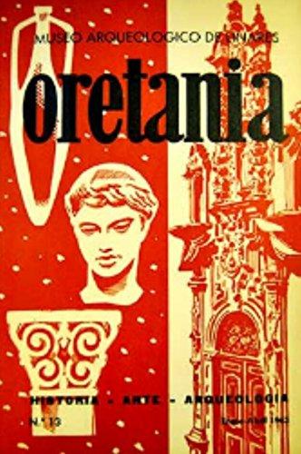 Oretania. Revista de Historia, Arte, Arqueología. Número 13. Año 1963