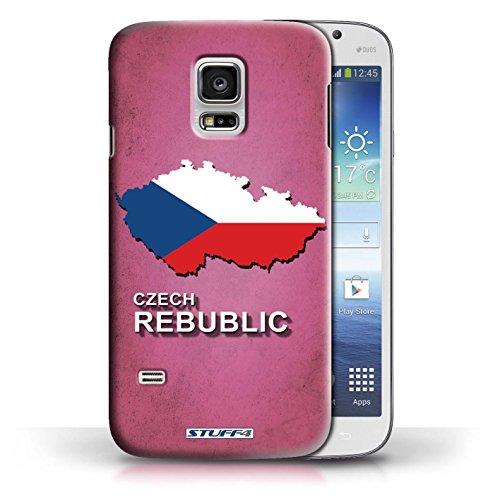 Kobalt® Imprimé Etui / Coque pour Samsung Galaxy S5 Mini / Australie conception / Série Drapeau Pays Tchèque/Czechian