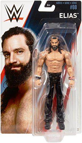 Mattel GmbH FMF13 WWE Basis Figur, Elias, Jungen, 15 cm