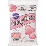 Wilton Candy Melts Pink Vanilla Flavour, 340 g - Decorate cakes, cookies or fruit