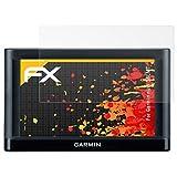 atFoliX Schutzfolie für Garmin nüvi 56LMT Displayschutzfolie - 3 x FX-Antireflex blendfreie Folie