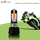#9: AllExtreme Universal RTD M6 LED Headlight with Fan for All Bikes