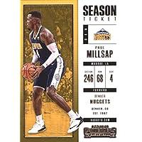 2017–18Dépasse Panini Season Ticket # 12Paul Millsap Denver pépites Basketball carte