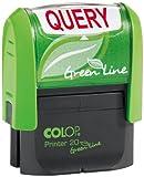 "COLOP Green Line - Sello con palabra""Query"""