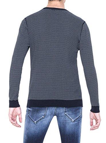Pullover Antony Morato Blau Jacguard Blau