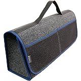 Kofferraumtasche BLAU Auto Tasche Zubehörtasche Car Boot Organiser Toolbag RIMERS 50x16x21cm Klettverschluss