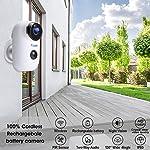 1080P-Telecamera-di-Video-Sorveglianza-Batteria-Ricaricabile-Ctronics-Wifi-Senza-Fili-Telecamera-IP-con-Sensore-di-Movimento-PIR-Audio-Bidirezionale-a-2-Vie-Visione-Notturna-IR-ed-Impermeabile
