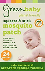 Mosquito Patches Insect Repellent Deet free