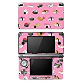 "Disagu SF-101949_896 Design Folie für Nintendo 3DS Motiv ""Sushi_rosa"" klar"