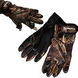 Pro Climate Neoprene Fishing Shooting Gloves - Camo - S/M, M/L, L/XL (S/M)
