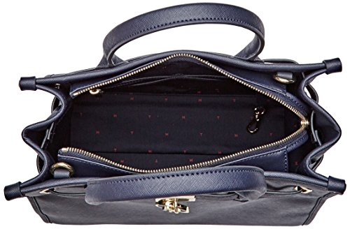 Tommy Hilfiger - American Icon Tote Solid, Borse Tote Donna Blu (Tommy Navy)