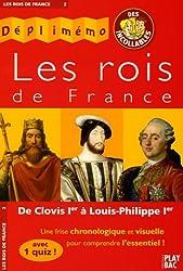 Les rois de France : De Clovis Ier à Louis-Philippe Ier