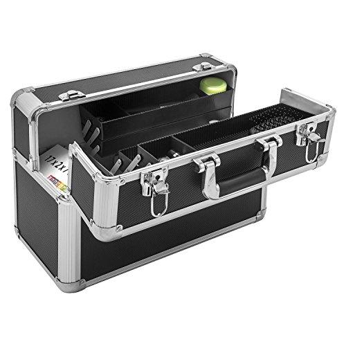 Werkzeugkoffer Angelkoffer Präsentationskoffer + Tragegurt Schlüssel Farbwahl - 6