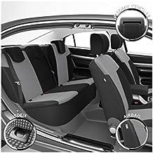 DBS 1011517 Isofix - Fundas de asientos de Coche, A Medida, Acabado de coche de alta gama, Compatible Airbag