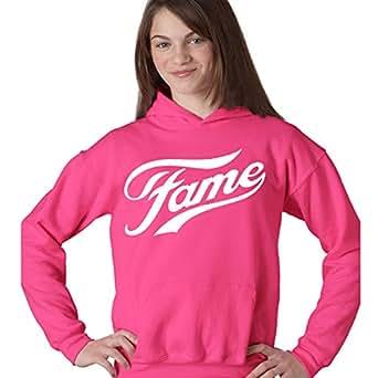 FAME LOGO PINK FANCY DRESS (XXL, HOODIE)