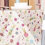 fwerq Minimalistische Nachttisch Tuch, Tischdecke tv Tisch Tuch, Tischdecke 100 x 140 cm (39 x 55 Zoll)