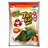 Taokaenoi Super Crisp Seaweed, Knusprige Seealgen zum Knabbern 3er Pack (hot & spicy)