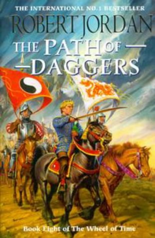 Cover of The Path of Daggers (Wheel of Time 8)