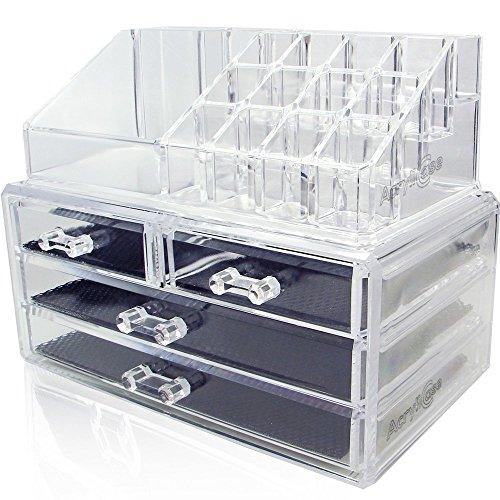 acrylic-makeup-organizer-cosmetic-jewerly-display-box-2-piece-set-by-acrylicasear