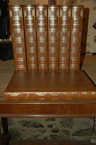 Le grand Robert de la langue française : Dictionnaire alphabétique et analogique de la langue française