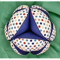 Pelota Montessori - Topitos Multicolor/Azul