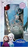 #5: M-Alive Frozen Princess Anna & Elsa Magic Wand, Crown and Wig Combo Hair Accessory Set