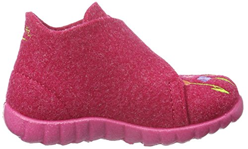 Superfit Happy, Chaussons fille Rose - Pink (PINK KOMBI 64)