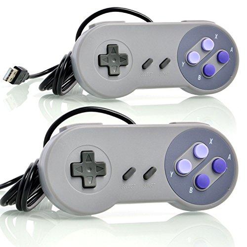 neuftech-2x-retro-usb-controller-snes-style-gamepad-fr-pc-mac-os-raspberry-pi