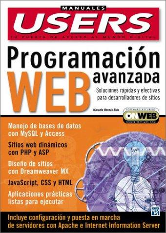 Programacion Web Avanzada (Manuales Users, 42) por Marcelo Ruiz