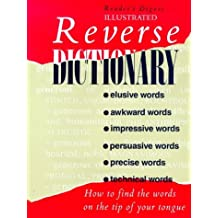 Reverse Dictionary (Readers Digest)