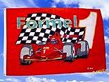Fahnen Flaggen FORMEL 1 rot  135 x 90 cm Fahne Flagge