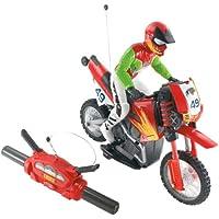 Mattel N1922-0 - Tyco Turbo Wheelie, moto con mando a distancia, rojo, 40 MHz [Importado de Alemania]