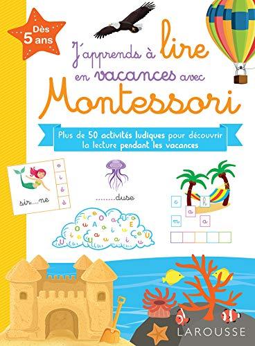 J'apprends à lire en vacances avec Montessori par Delphine Urvoy