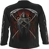 Spiral - Men - JUDGE REAPER - Longsleeve T-Shirt Black