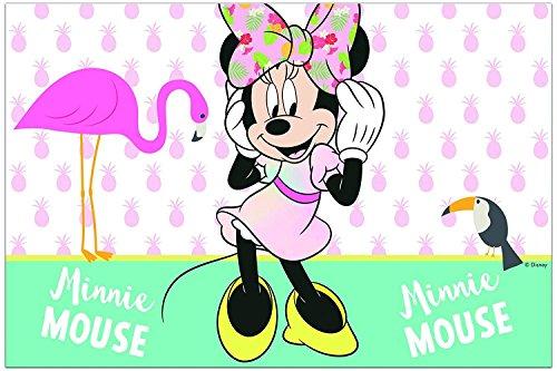 Neu: Tischdecke * Minnie Tropical * für Kindergeburtstag und Mottoparty | Motto Disney Maus Mouse Kinder Geburtstag Party Strand tropisch Paradies