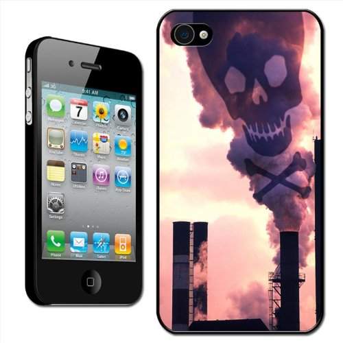 Fancy A Snuggle Hartschale für Apple iPhone4/4S (aufsteckbar, für die Rückseite), Umweltverschmutzung