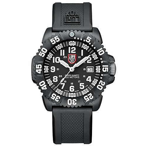 Luminox Mens Analogue Classic Quartz Connected Wrist Watch with PU Strap XS.3051.L