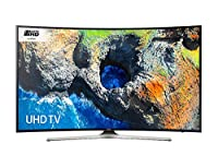 Samsung UE65MU6200 65 Inch 4K Ultra HD HDR Curved LED Smart TV with Freeview HD