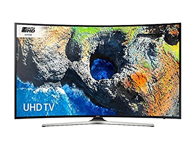 Samsung UE49MU6200 Black - 49inch 4K Ultra HD Curved TV with HDR Pro and Pur Colour