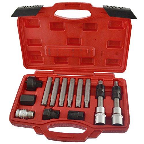 AB Tools-Neilsen Jeu d'outils de l'alternateur/Réparation/Dépose/Bosch 13pc kit de poulie d'entraînement 1/2 UN032